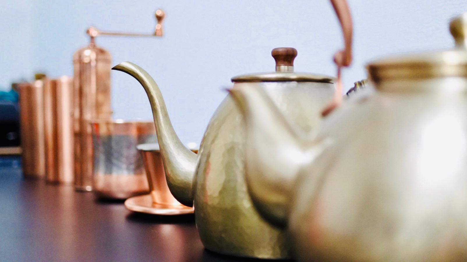 コーヒーを美味しくする魔法の道具 コーヒー銅製品の紹介