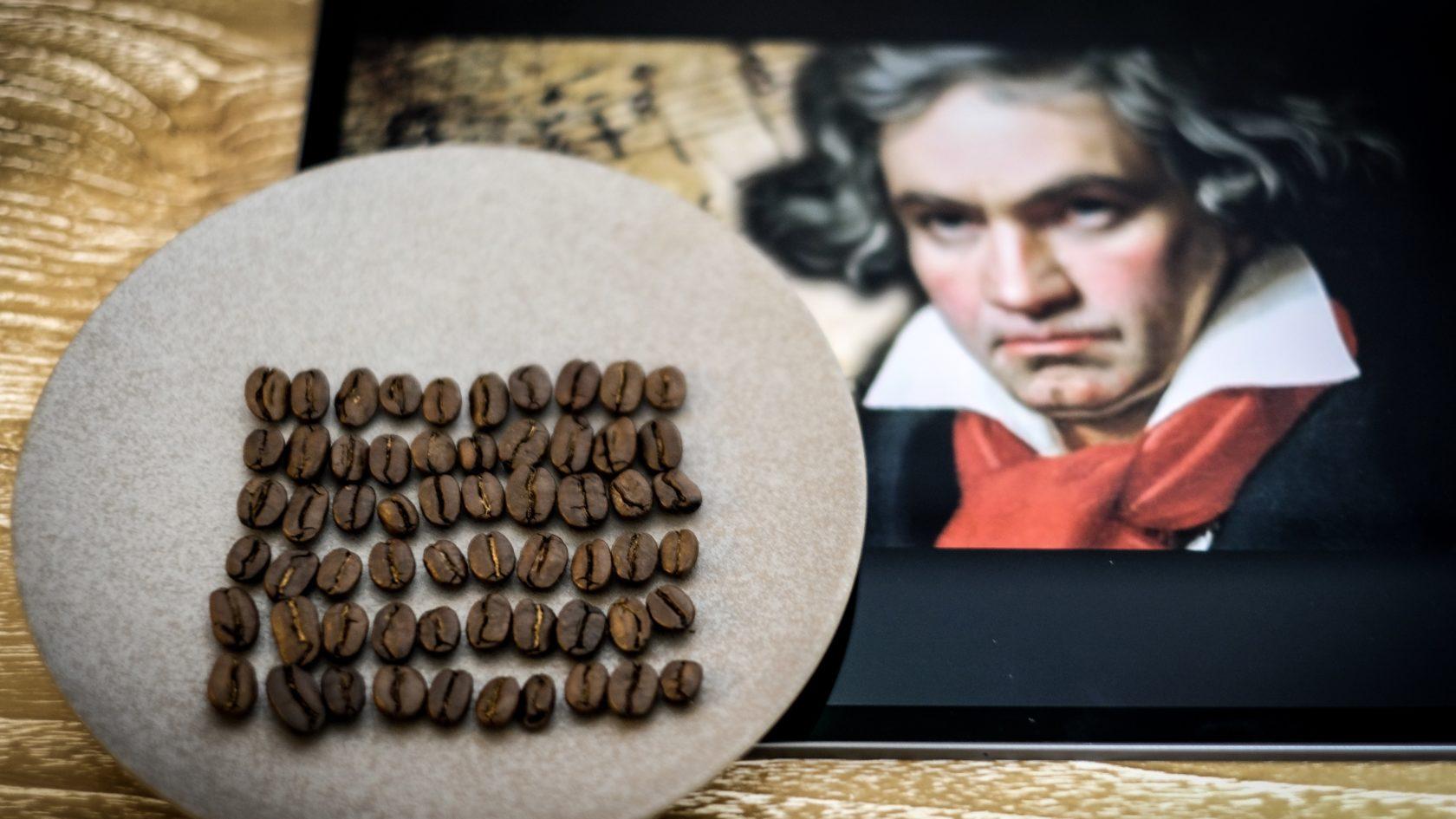 acaiaも真っ青?ベートーベンが使用していたコーヒースケールが秀逸だった話